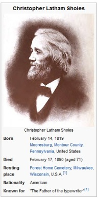 Christopher Latham Sholes